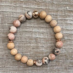 Handcrafted Essential Oil Diffuser Bracelet